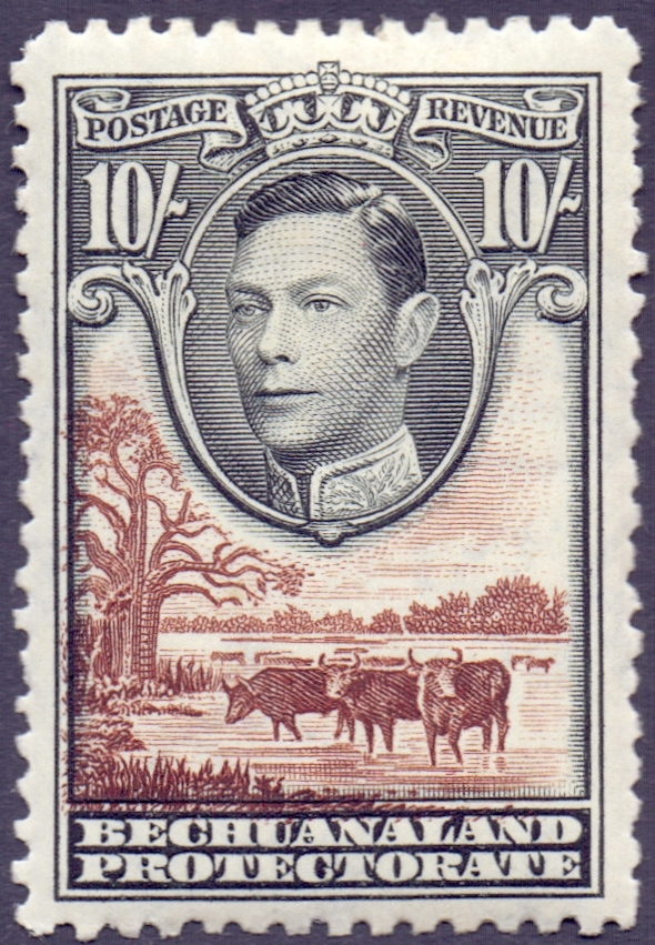 Lot 2 - STAMPS : BRITISH COMMONWEALTH, George VI Crown album with a good range of mint issues.