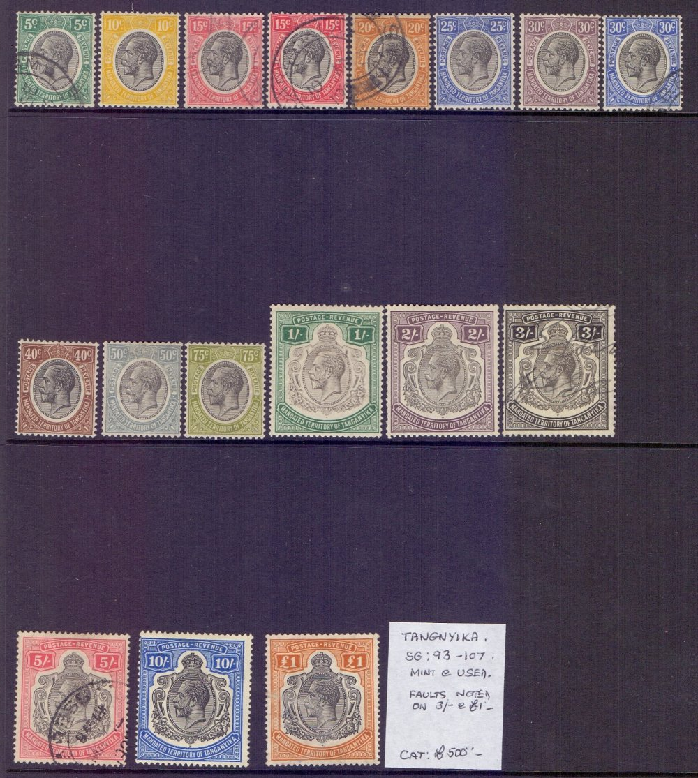 Lot 21 - STAMPS : BRITISH EAST AFRICA,