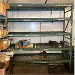 """DESCRIPTION 96"""" X 30"""" X 96"""" SECTION OF PALLET RACKING W/ CONTENTS INCLUDED ADDITIONAL INFORMATION AS"""
