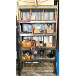 """DESCRIPTION 48"""" X 16"""" X 96"""" STEEL SHELVING UNIT W/ CONTENTS INCLUDED LOCATION A THIS LOT IS ONE MONE"""