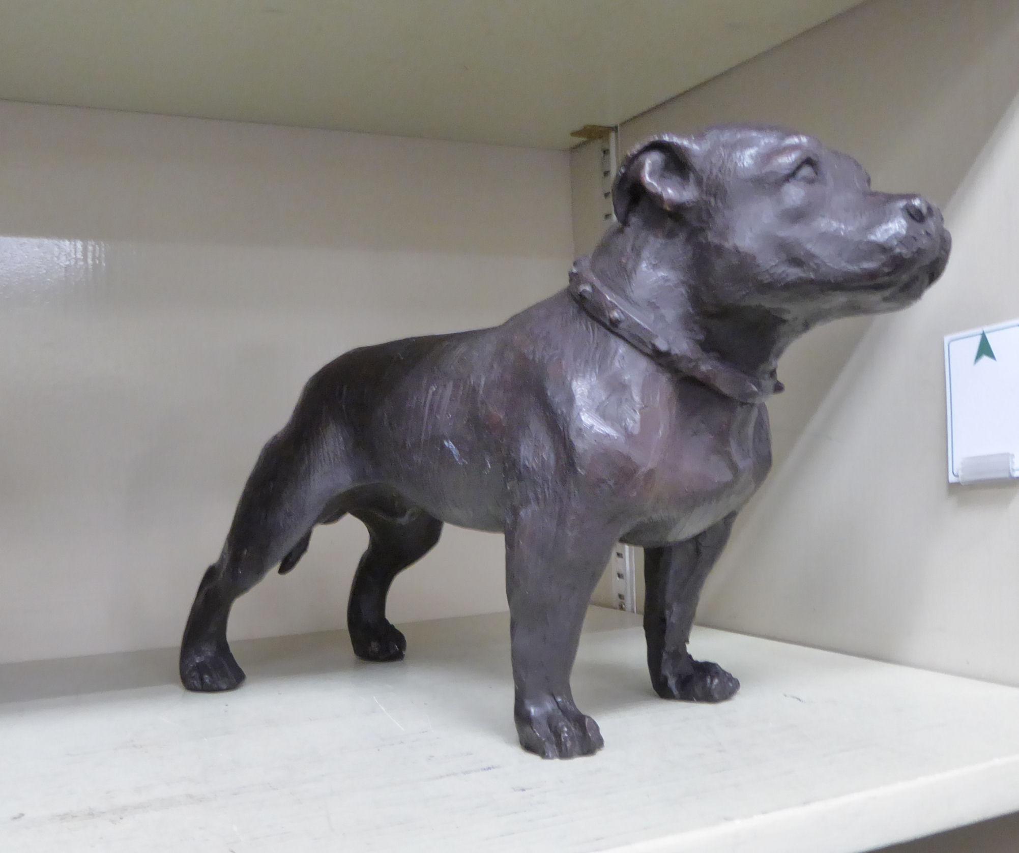 Lot 4 - A modern cast bronze model,