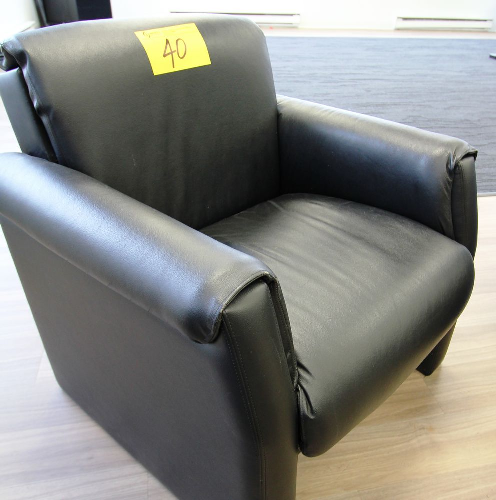 BROWN ARMCHAIR - Image 2 of 2