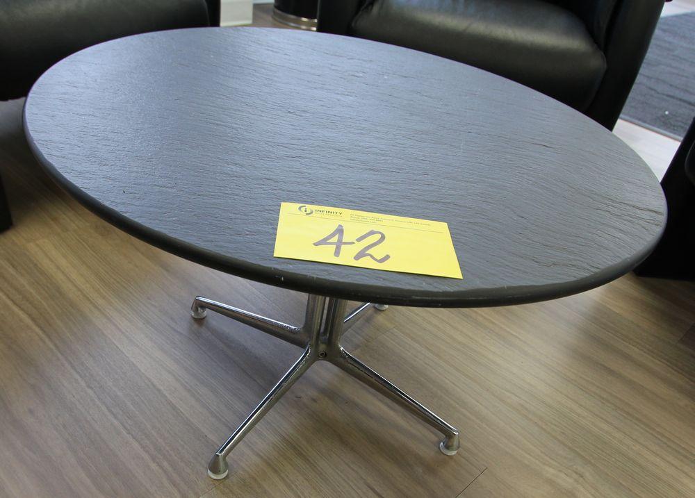 "30"" DIA COFFEE TABLE"