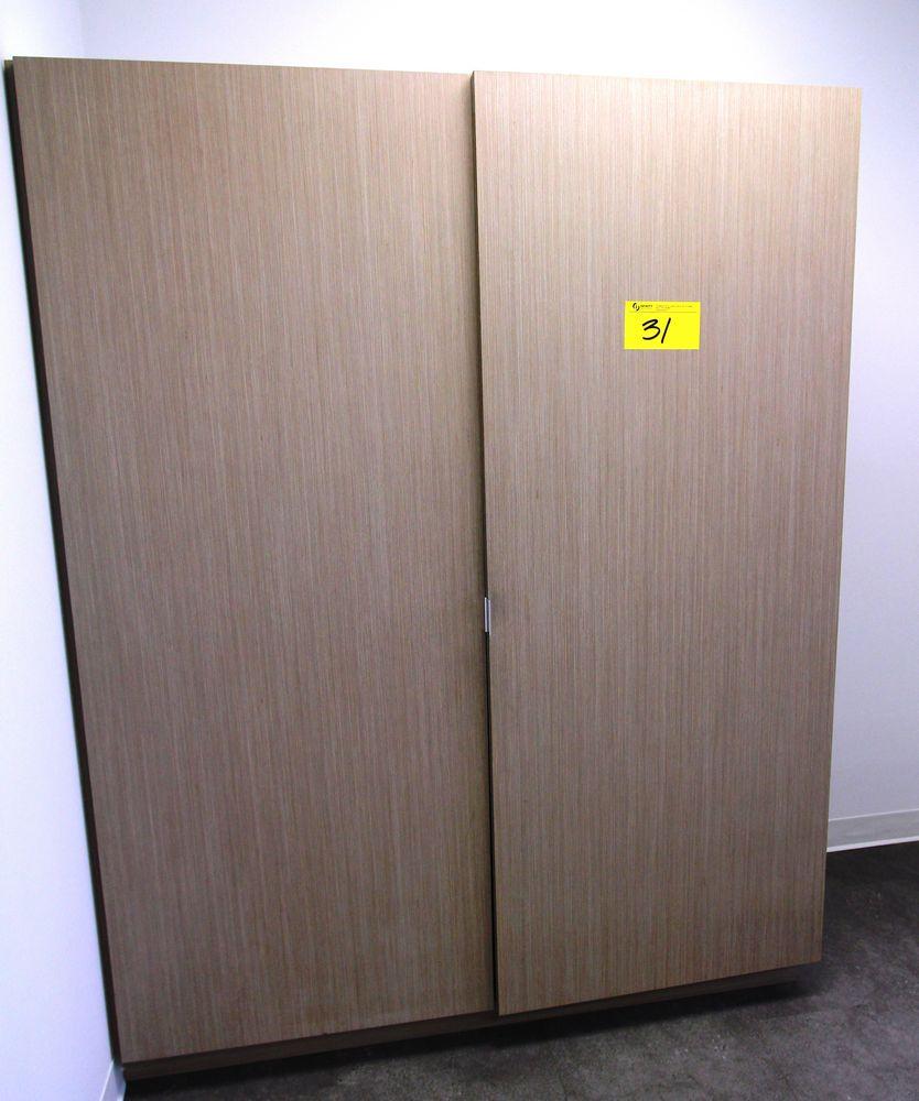 """SINGLE DOOR STORAGE CABINET, 22"""" X 28"""" X 78"""""""