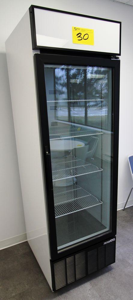 HABCO MODEL SE24M SINGLE DOOR REACH-IN COOLER, 115V, 1 PHASE, S/N 23005546