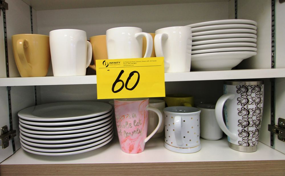 ASST. KITCHEN DISHES, CUPS, ETC. - Image 6 of 7