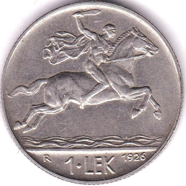 Lot 1 - Albania 1926R LEK, EF, KM 5