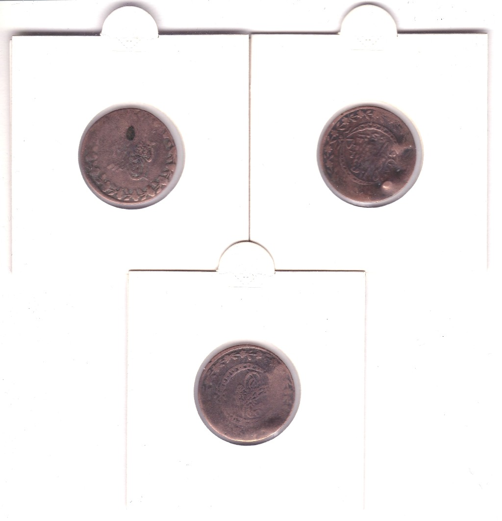 Lot 15 - Ancient Arabic Copper Coinage (3)