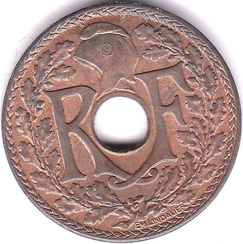 Lot 36 - French Indo-China 1939 Half Cent, KM 20, GEF, much lustre