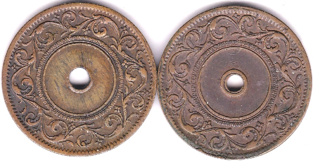Lot 25 - Ceylon (ND) Copper token, J.M. Robertson and Co/Colombo, V.V.M.M at Centre, (Penny Size) Scarce,
