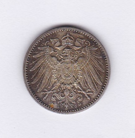Lot 48 - Germany (Empire) 1900 G, Mark AUNC with lustre, Scarce KM14