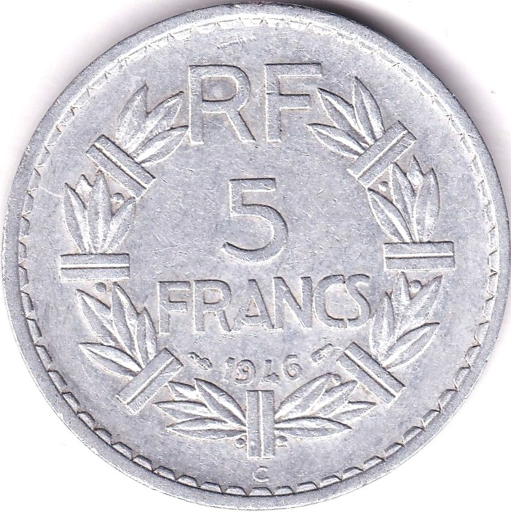 Lot 30 - France 1933 20 Francs, GEF, KM