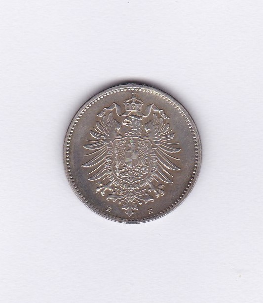 Lot 46 - Germany (Empire) 1874 E Mark, AUNC KM7