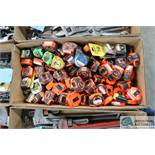 (LOT) ASSORTED TAPE MEASURES