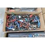 (LOT) T-HANDLE HEX WRENCHES