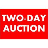 DUE TO NUMBER OF LOTS WE HAVE SPLIT THIS IN TO A TWO-DAY AUCTION