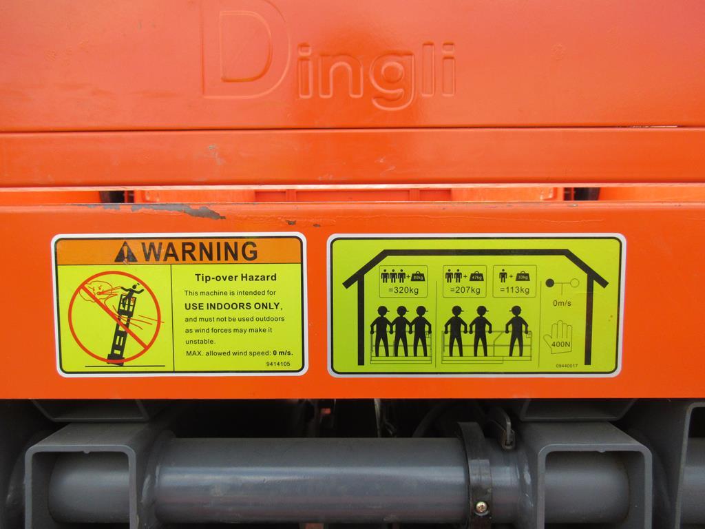 Dingli JCPT 1412 DC 24V electric scissor lift - Image 7 of 7
