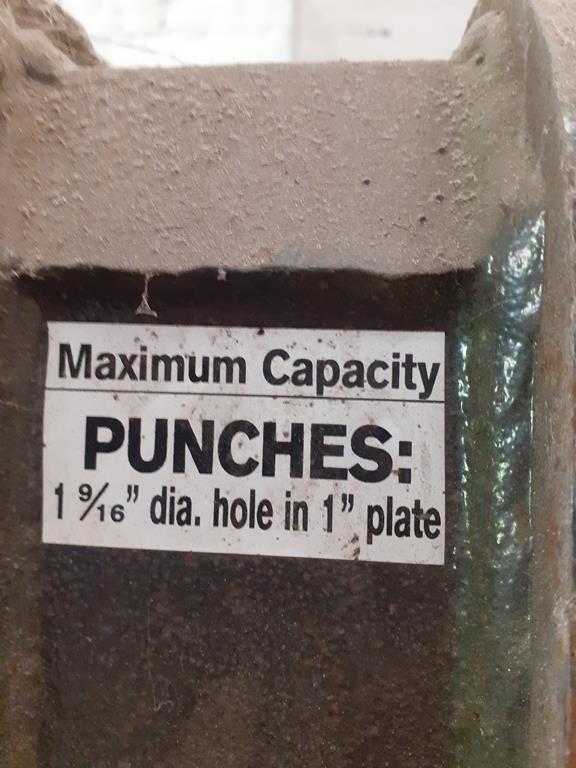 Edwards 125 ton super punch power press - Image 2 of 3