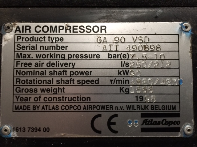 Search By Model Number - Industrial Compressor Supplies