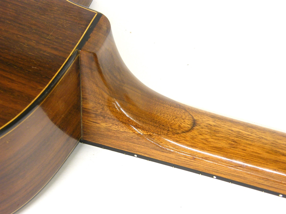Lot 17 - 1933 Selmer Orchestra model Maccaferri oval sound hole guitar, no. 269