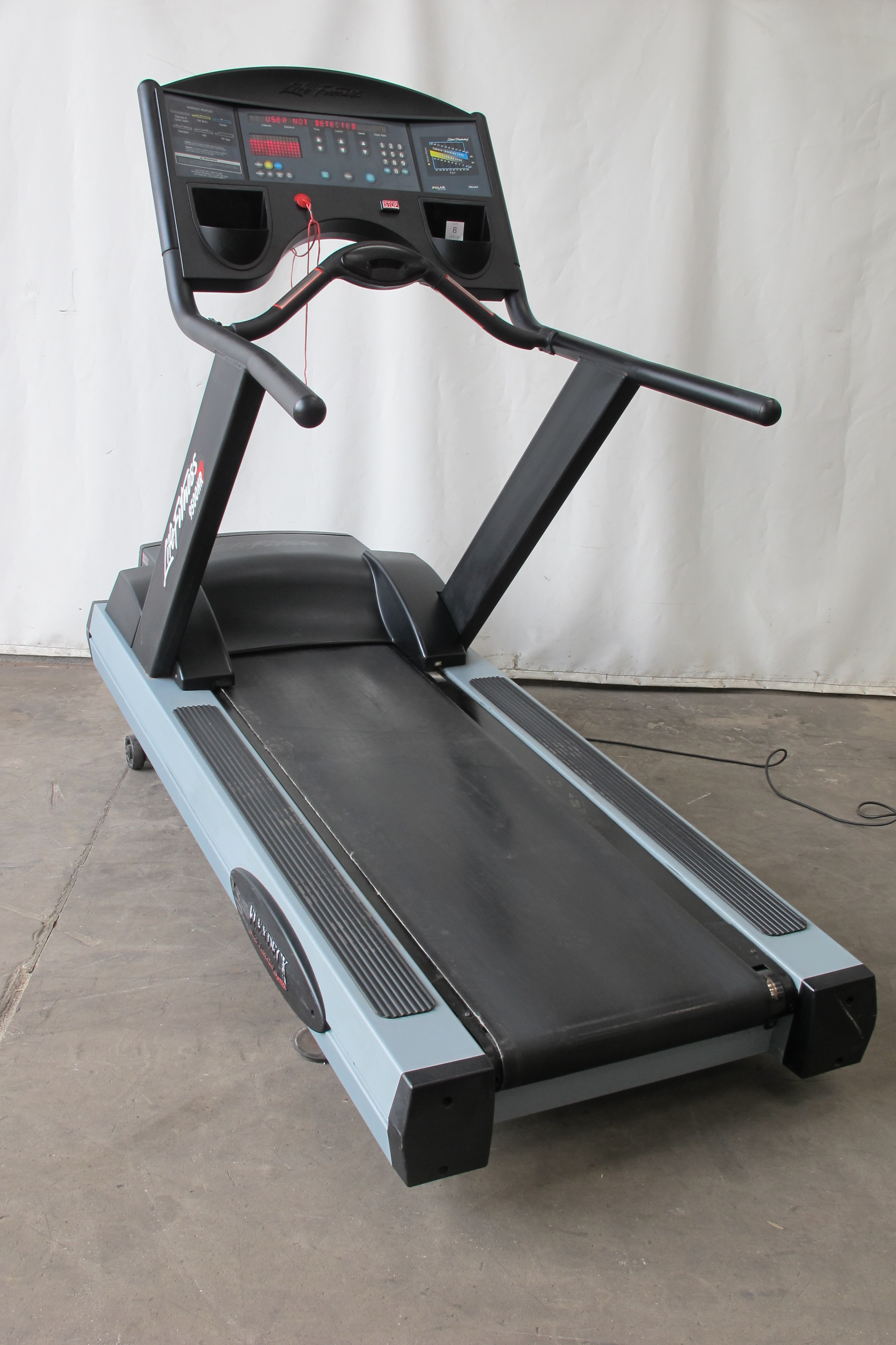 Treadmill Life Fitness 9500hr Photos