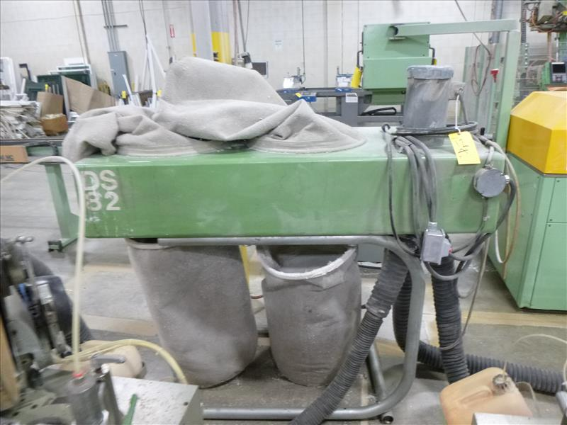 Lot 12A - dust collector, 2 hp, I.D. # DS2,
