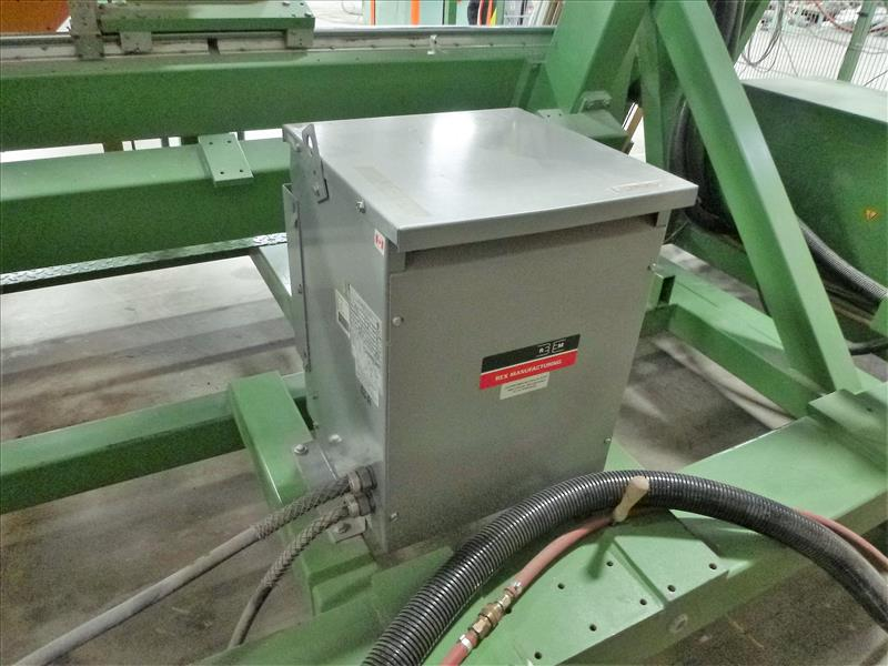 Lot 2 - Urban GmbH 4-point vertical vinyl welder, mod. AKS-1410/ETL-S, ser. no. 14709 c/w control console,