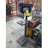 King pedestal drill press (2013), 1/3 hp [Winner will be determined based on sum of bids on lots
