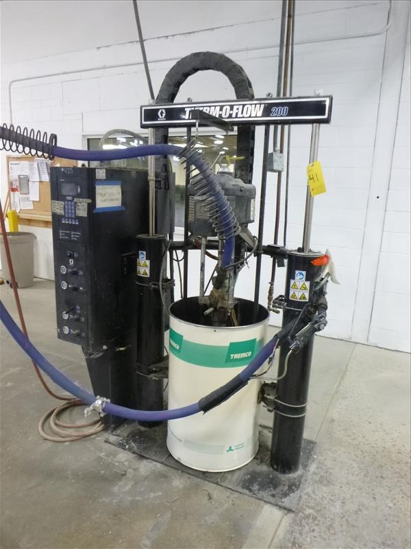 Lot 41 - Graco Therm-O-Flow 200 hot melt butyl dispensing system, Series F10D, mod. TOF200-A-