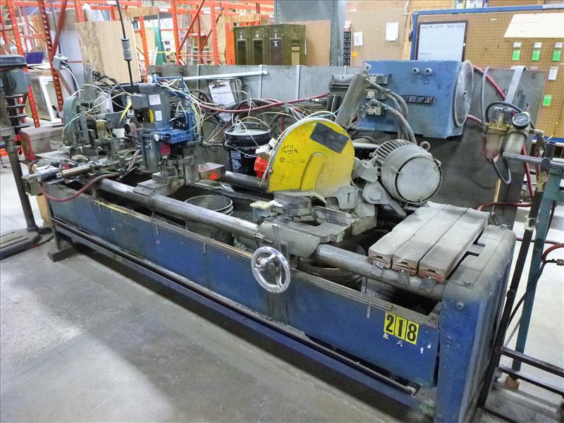 Lot 54 - Sampson double-mitre saw & drill, mod. 4010DC, ser. no. 2216 (1980) [Winner will be determined based