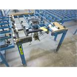Besten applicator table, mod. Mast, ser. no. 62-316-0987 (1987)