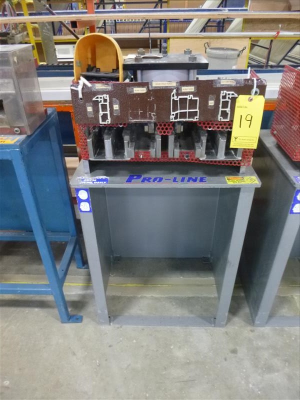 Lot 19 - Pro-Line pneumatic punching die