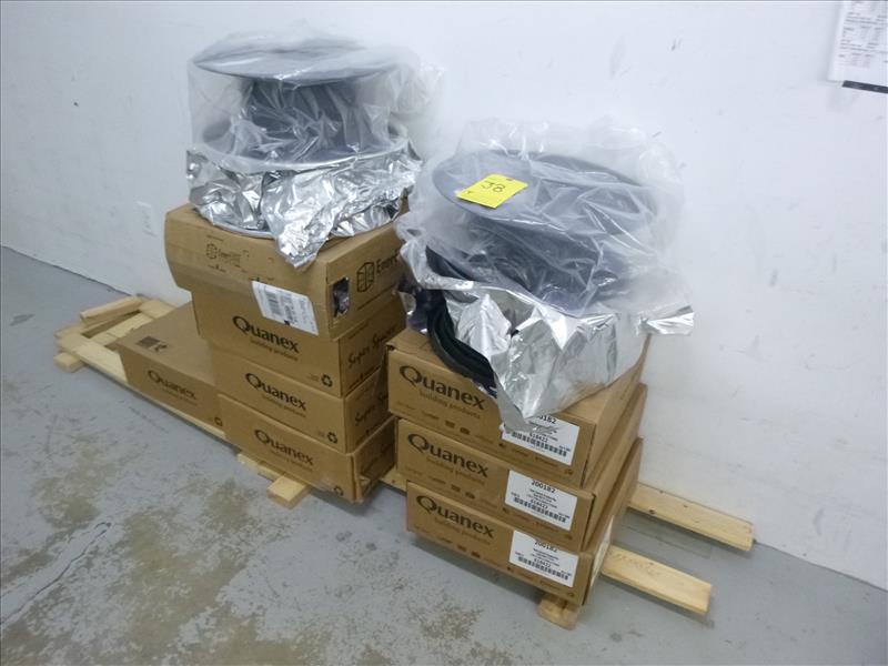 """Lot 38 - (7 x 900') Quanex Super Spacer Premium Plus IG spacer, black, 1/4"""" x 3/8"""", p/n 618422"""