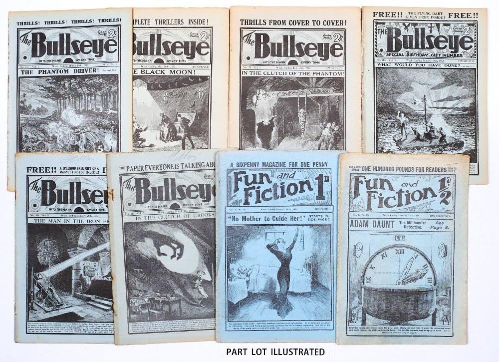 Lot 21 - Bullseye (1931-34) 17, 21, 24, 35, 39, 44 [fr], 54, 55, 57, 58, 61, 64, 67, 70, 71, 74, 76-78, 82,
