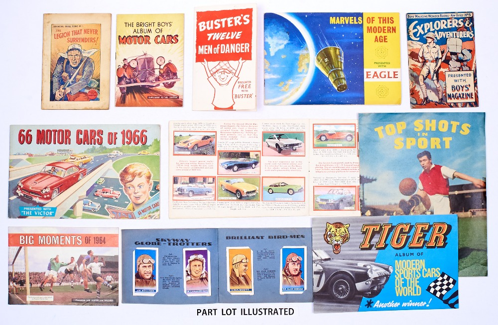 Lot 25 - Football, Adventure and Sports Car Booklets and Giveaways (1930s-70s). Adventure Thrill Book 1,