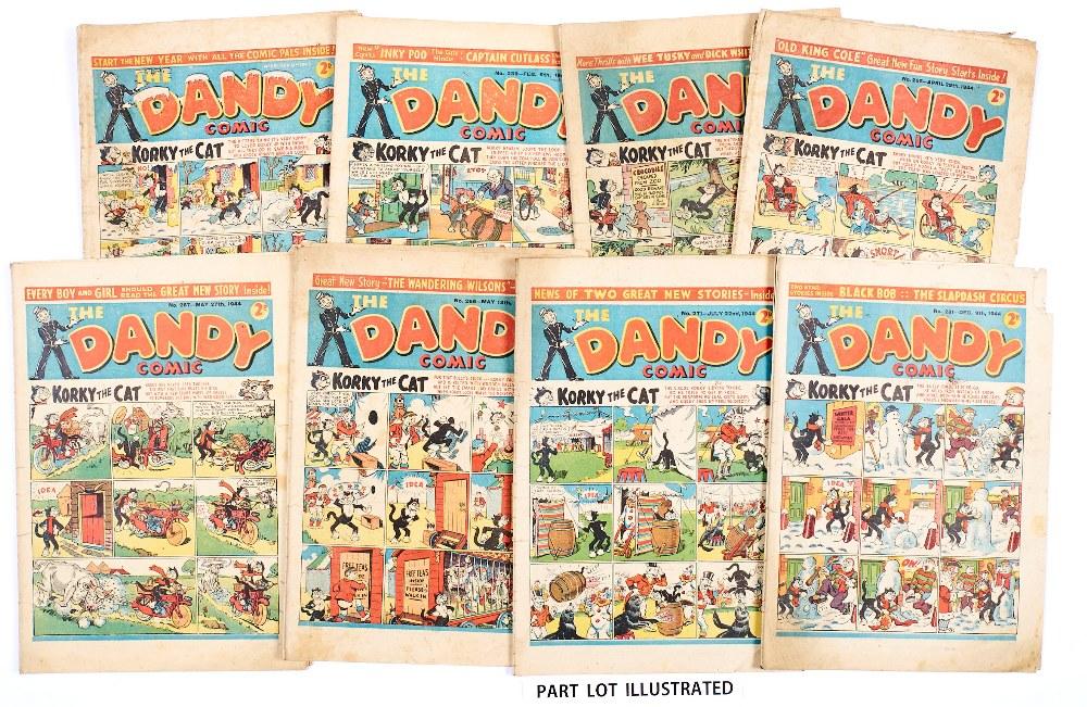 Lot 49 - Dandy (1943-44) 231, 243, 259, 265-267, 271, 273, 274, 277-279 Fireworks, 281. Propaganda war