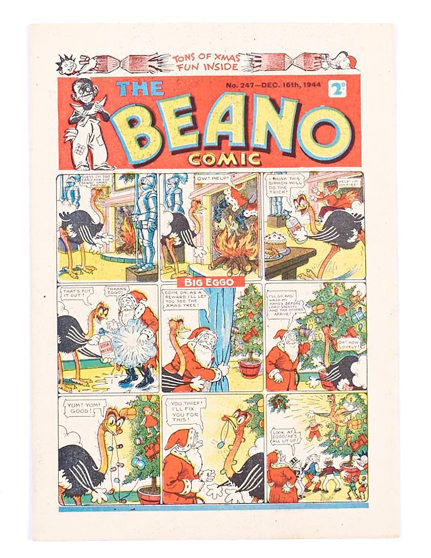 Lot 37 - Beano 247 Xmas (1944) [vfn-]