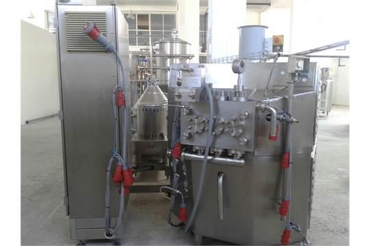 Niro Soavi Three Piston S/S Homogenizer, S/N 376821, 6,000 Liter Per