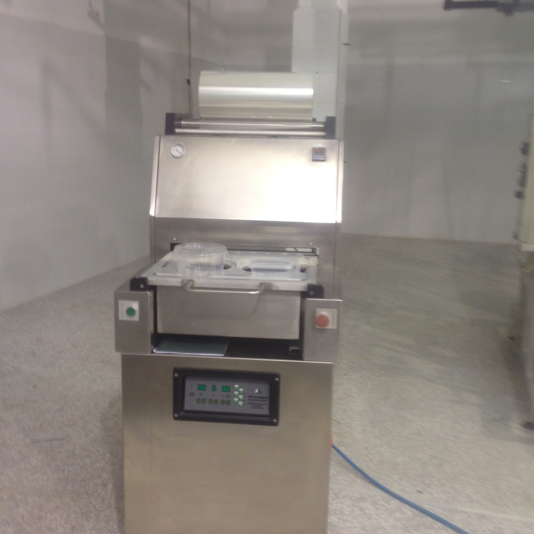 Lot 6 - Effe Packaging Thermoforming Cup Sealer, Equipped with Gas Flush, Suitable for Cheese, Yogurt, Past