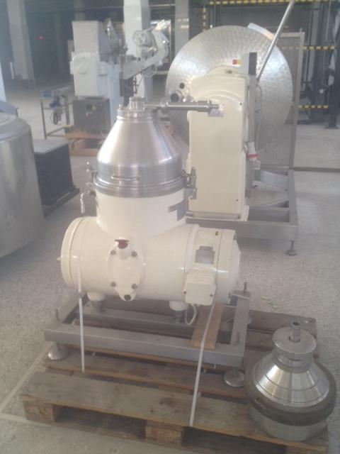 Lot 2 - Westfalia Separator, 1000-1500 L, Recently Refurbished, Very Good Condition