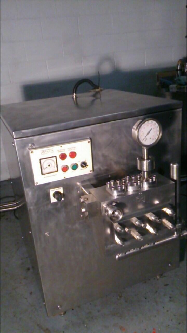 Seriete 1000 ltr Homogenizer, 80-250bar, Good Condition (Located in