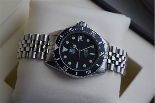 check out ddf1c 05b6e VERY RARE* Steel Tag Heuer 1000 - Submariner/ GMT Style ...