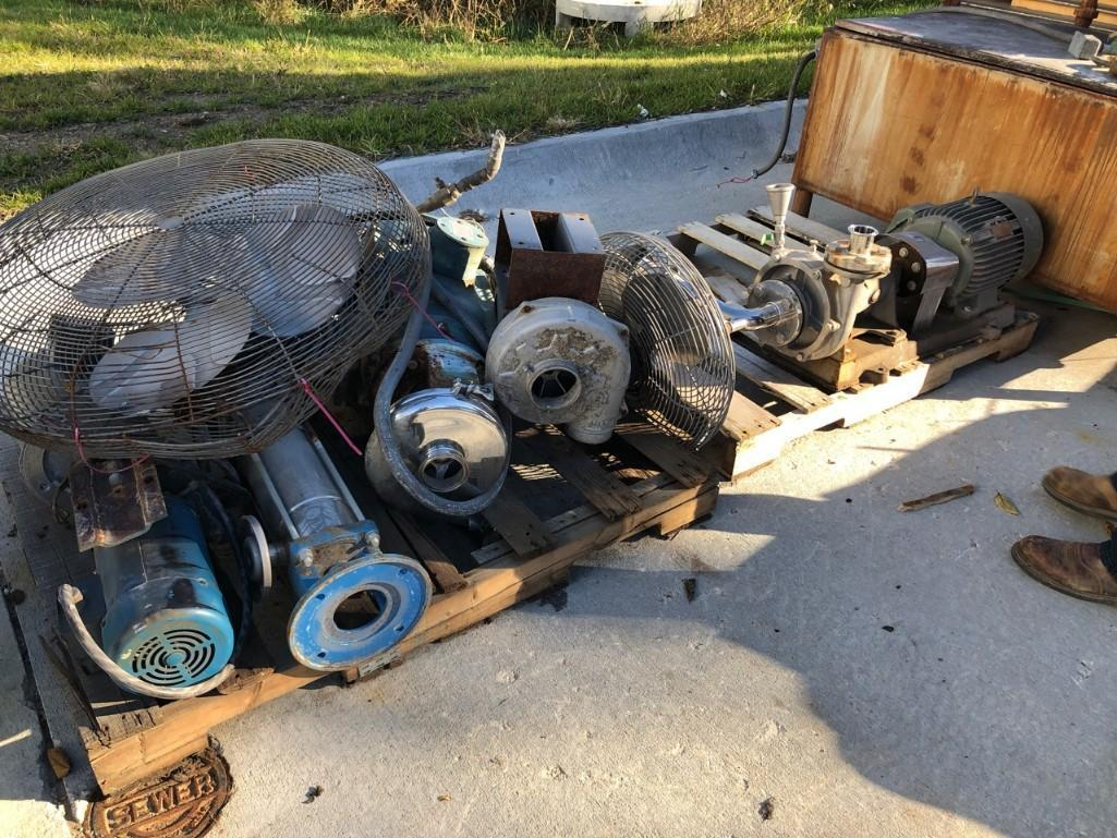 Lot 48 - Stainless Pumps