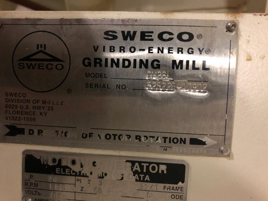 Lot 41 - Sweco Vibro Energy Grinding Mill