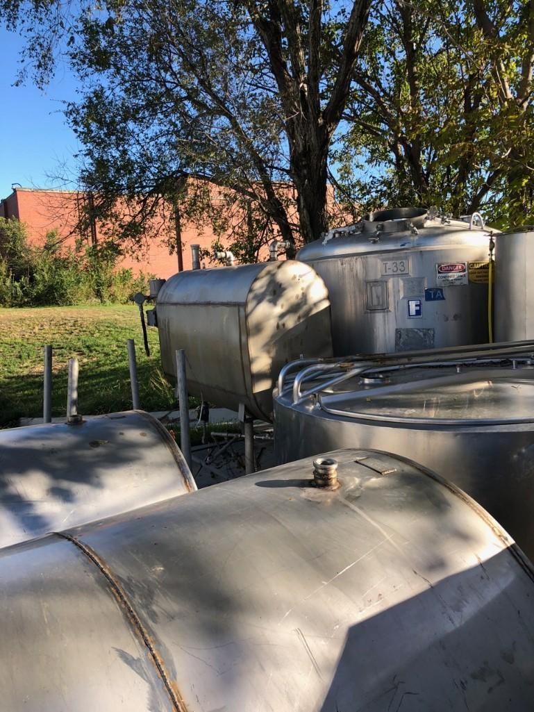Lot 44 - Milk Tank