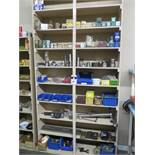Hardware and Fixtures w/ Shelf (SOLD AS-IS - NO WARRANTY)