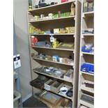 Hardware, Fuses and Misc w/ Shelf (SOLD AS-IS - NO WARRANTY)