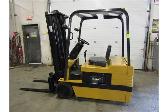 CAT Electric Forklift 3600lbs capacity with 3-stage Mast