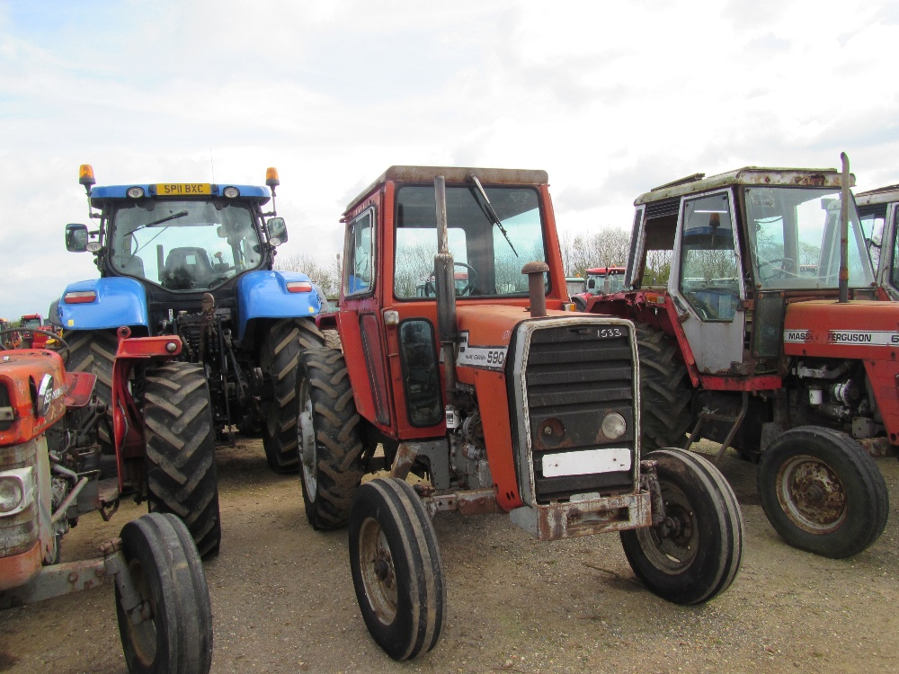 4 Door Tractor : Massey ferguson tractor c w door cab ser no
