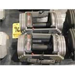(2) Powerblock Sport EXP Adjustable Dumbbells, 20 to 50 lbs